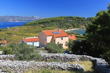 Lumbarda, Korčula, Objekt 9271 - Ubytování s písčitou pláží.