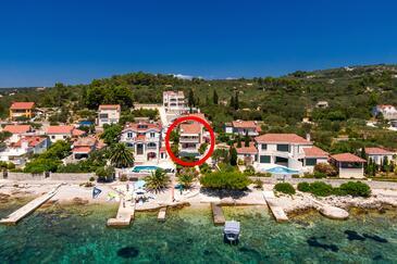 Gradina, Korčula, Objekt 9273 – Apartmaji v bližini morja.
