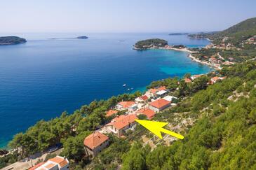 Prižba, Korčula, Property 9276 - Apartments by the sea.