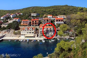 Zavalatica, Korčula, Property 9285 - Apartments by the sea.