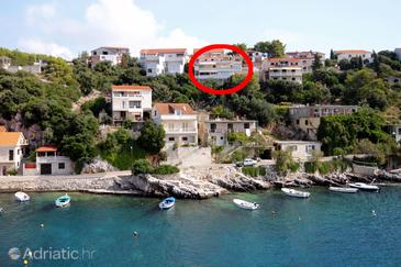 Zavalatica, Korčula, Объект 9286 - Апартаменты с галечным пляжем.