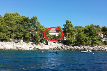 Brna, Korčula, Objekt 9296 - Kuća za odmor blizu mora.
