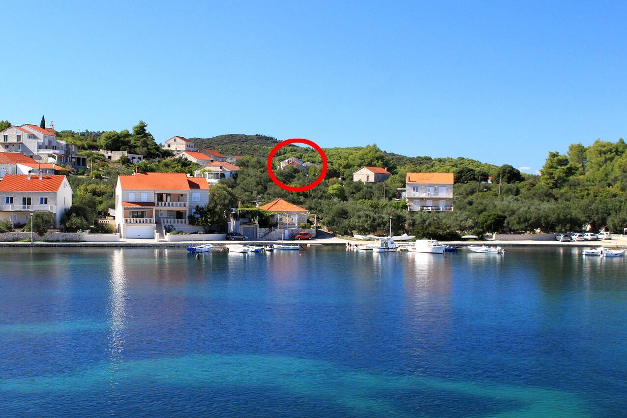 Ferienwohnung im Ort Lumbarda (Korula), Kapazität 2+1 (2143992), Lumbarda, Insel Korcula, Dalmatien, Kroatien, Bild 1