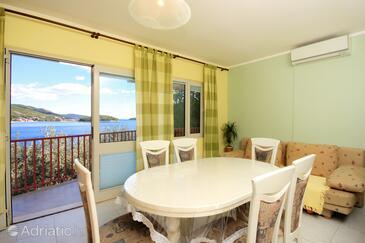 Prižba, Столовая в размещении типа apartment, доступный кондиционер и WiFi.
