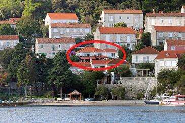Korčula, Korčula, Property 9321 - Apartments near sea with pebble beach.