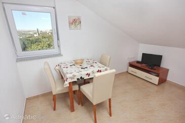 Vlašići, Столовая в размещении типа apartment, доступный кондиционер и WiFi.