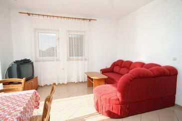 Vidalići, Living room in the apartment, WIFI.