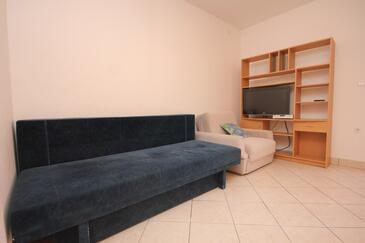 Mandre, Obývací pokoj v ubytování typu apartment, WIFI.