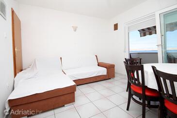 Kustići, Гостиная в размещении типа apartment, WiFi.