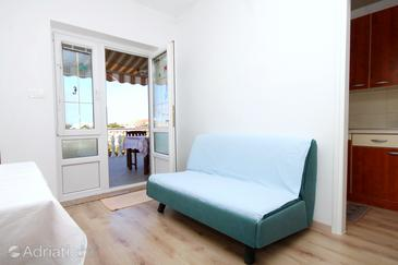 Kustići, Living room in the apartment, WIFI.