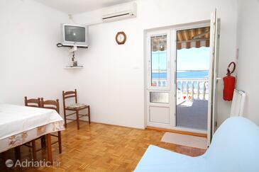 Kustići, Obývací pokoj v ubytování typu apartment, WiFi.