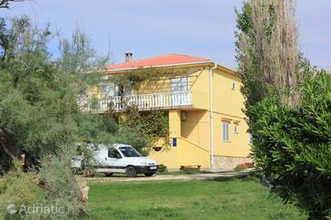 Dinjiška, Pag, Объект 9386 - Апартаменты вблизи моря с галечным пляжем.