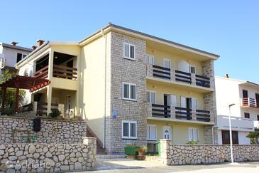 Pag, Pag, Объект 9388 - Апартаменты с галечным пляжем.