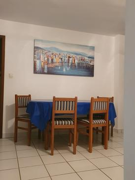 Vidalići, Столовая в размещении типа apartment, доступный кондиционер и WiFi.
