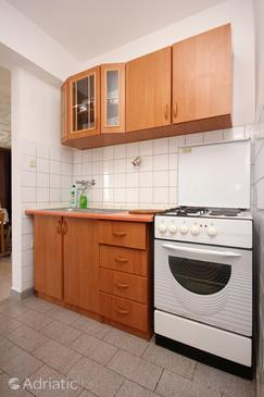 Pag, Kitchen in the apartment, WIFI.