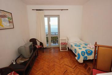 Podstrana, Obývacia izba v ubytovacej jednotke apartment, WIFI.