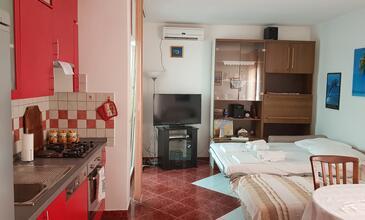 Vidalići, Living room in the apartment, dostupna klima, dopusteni kucni ljubimci i WIFI.