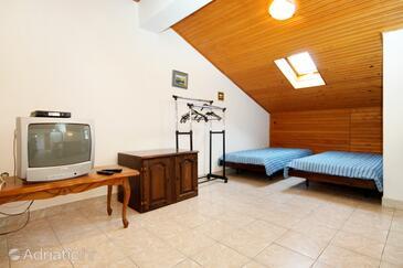 Novalja, Гостиная в размещении типа apartment, WiFi.