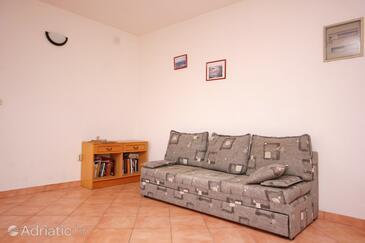 Bušinci, Living room in the apartment, WIFI.
