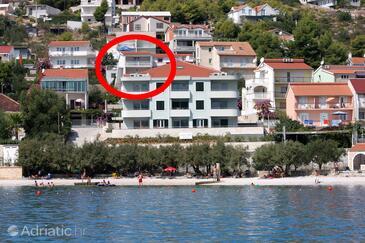 Marina, Trogir, Property 9443 - Apartments near sea with pebble beach.