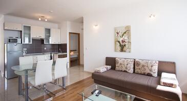 Orebić, Obývacia izba v ubytovacej jednotke apartment, WIFI.
