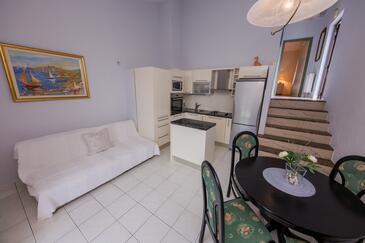 Rastići, Obývací pokoj v ubytování typu apartment, WiFi.
