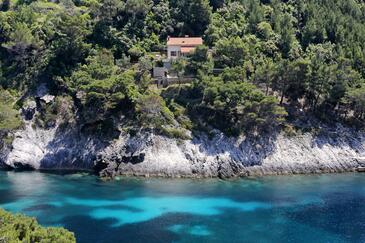 Uvala Bačva, Korčula, Objekt 9475 - Ubytovanie blízko mora.