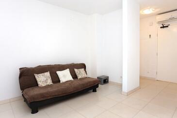 Kneža, Obývacia izba v ubytovacej jednotke apartment, WIFI.