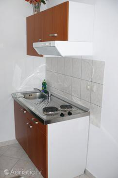 Sumpetar, Kitchen in the studio-apartment, dopusteni kucni ljubimci i WIFI.