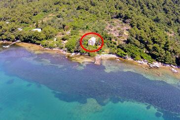 Ston - Supavao, Pelješac, Objekt 9485 - Ubytování v blízkosti moře s kamenitou pláží.