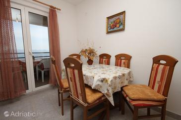 Smokvina, Dining room in the apartment, (pet friendly).
