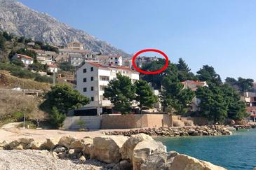 Medići, Omiš, Property 9505 - Vacation Rentals with pebble beach.