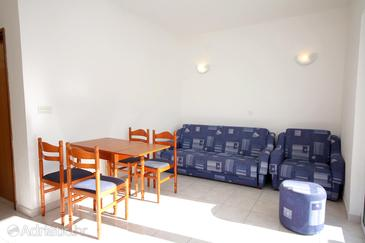 Marušići, Obývací pokoj v ubytování typu apartment, s klimatizací a WiFi.