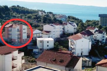 Podstrana, Split, Objekt 9662 - Ubytovanie s kamienkovou plážou.