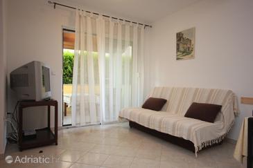 Premantura, Living room in the apartment, WIFI.
