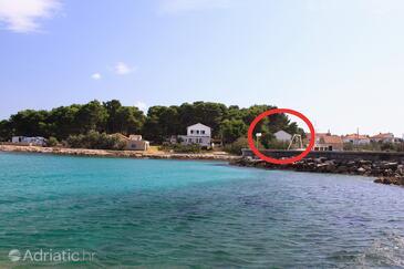 Sušica, Ugljan, Объект 9664 - Дом для отдыха вблизи моря.