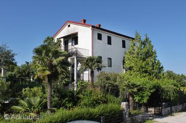 Njivice, Krk, Property 9668 - Apartments with pebble beach.