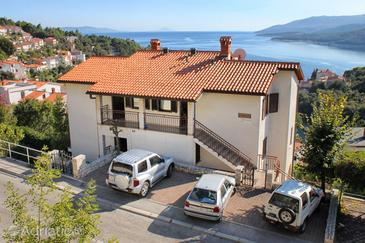 Rabac, Labin, Property 9670 - Apartments with pebble beach.