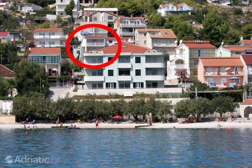 Marina, Trogir, Property 9677 - Apartments near sea with pebble beach.