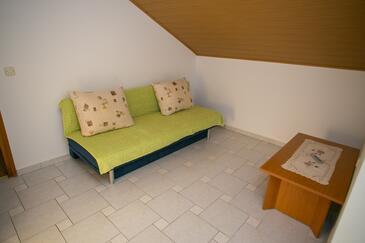 Zubovići, Wohnzimmer in folgender Unterkunftsart apartment, Klimaanlage vorhanden, Haustiere erlaubt und WiFi.