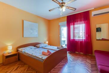 Mali Lošinj, Спальня в размещении типа room, доступный кондиционер и WiFi.