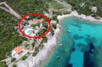 Isolated apartments with a swimming pool Cove Rasohatica	 bay - Rasohatica (Korčula) - 9699