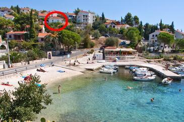 Mavarštica, Čiovo, Property 970 - Vacation Rentals near sea with pebble beach.