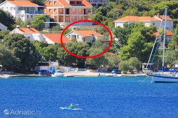 Žrnovska Banja, Korčula, Objekt 9705 - Ubytování v blízkosti moře.