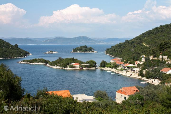 Mljet in the region Južna Dalmacija (Croatia)