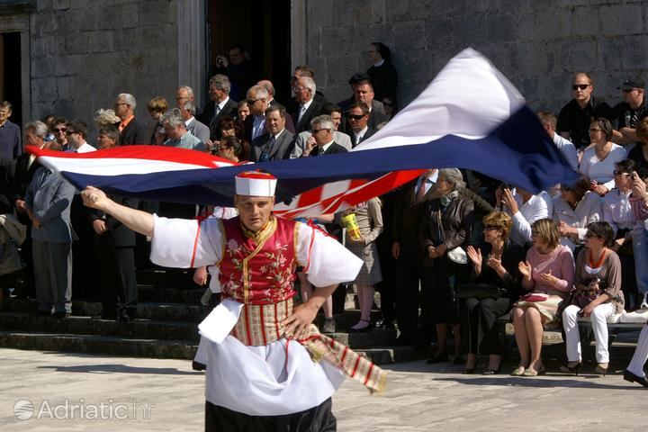 Korčula v regionu Južna Dalmacija (Chorvatsko)