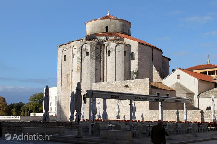 Zadar in the region Sjeverna Dalmacija (Croatia)