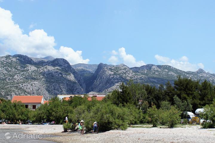 Paklenica nella regione Sjeverna Dalmacija (Croazia)