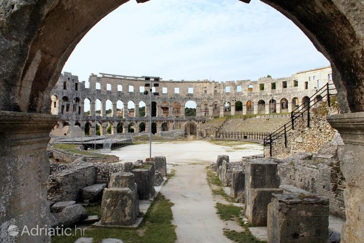 Pula in the region Istra (Croatia)