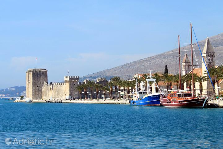 Trogir in the region Srednja Dalmacija (Croatia)
